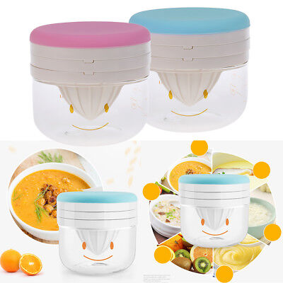 Baby Food Grinder Kitchen Juicer Hand Mill Grinding Bowl Infant Food Cooking