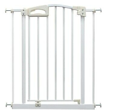 Callowesse® Carusi Narrow Baby Safety Gate 63-70 cm (80 cm High) - White