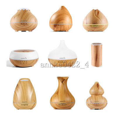 Easehold LED Ultrasonic Humidifier Essential Oil Aroma Diffuser Air Purifier UK