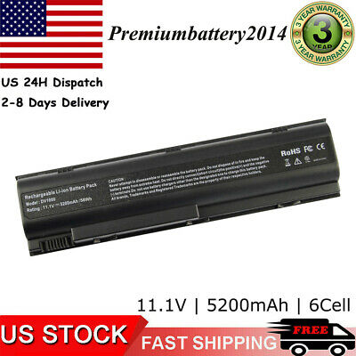Battery For HP Compaq Presario C300 C500 M2000 V2000 V4000 V5000 HSTNN-IB09 6Cel
