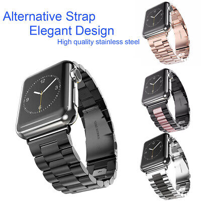 For Apple Watch Serie 4321 iWatch Stainless Steel Strap 38/42/40/44mm Watch Band