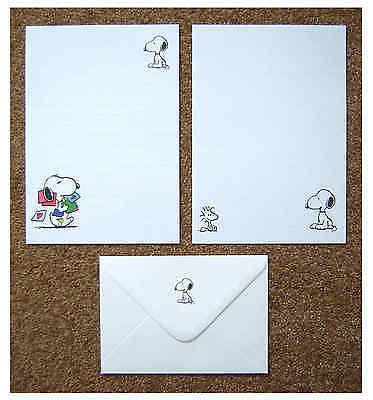 Snoopy Letter Writing Paper Stationery Set