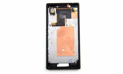 Full LCD Display +touch screen+Frame for SONY XPERIA M2 D2303 D2305 D2306 Black