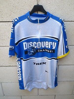 LANCE ARMSTRONG DISCOVERY Channel Nike Trikot Tour de France