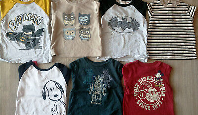 Lot 7 T-Shirts manches longues 12 mois