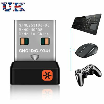 2.4GHZ Wireless USB Receiver Dongle for Logitech Replacement Unifying Keyboard