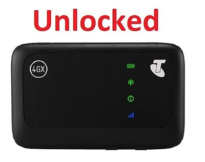 New Unlocked Telstra 4GX Wifi 4G ZTE MF910v Modem Amaysim OVO Vaya