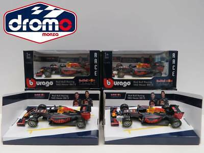 1/43 Burago - Bburago Red Bull Rb 12 N°33 - N°3 -Set 2 Auto