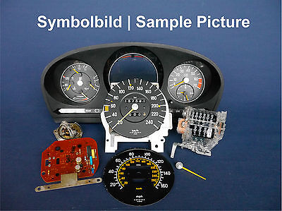 Speedometer Repair Conversion miles to km/h for Mercedes-Benz R 107 SL >03-1980