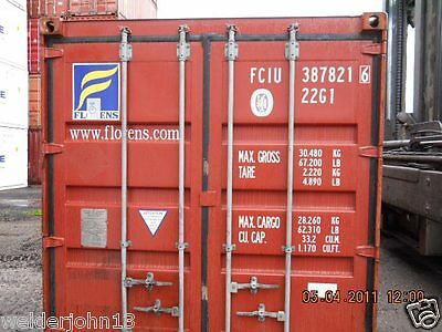 Shipping Containers 20 Ft Used Various Uk Sites Gargo Grade