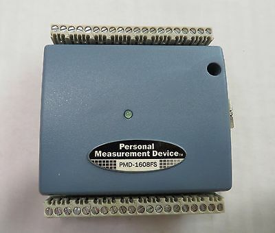 MEASUREMENT COMPUTING USB Data Acquisition Device DAQ USB- 1608FS, with cable