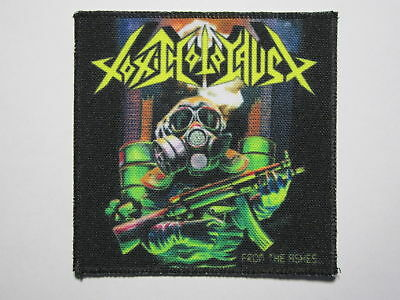 TOXIC HOLOCAUST From The Ashes new printed patch thrash metal