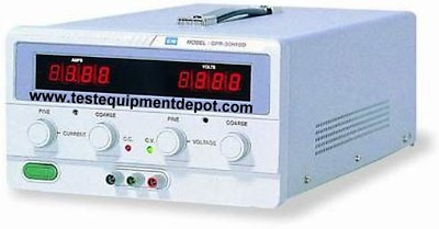 GW Instek GPR-6060D Single Output Linear DC Power Supply with LED Display, 6 60
