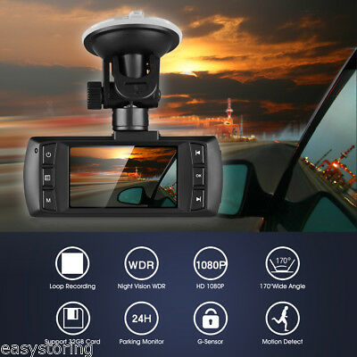 HD DashCam 1080P Car DVR Camcorder Video Camera Recorder Night Vision G-sensor