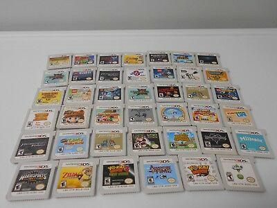 Nintendo 3ds games go select title zelda lego donkey kong ect game