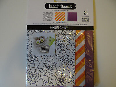 Halloween Treat Food Grade Paper Tissue Goodie Bags Baking Candy