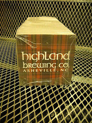 HIGHLAND BREWING Co Asheville NC ~ NEW ~ SLEEVE of 125 Beer Bar Mats Coasters