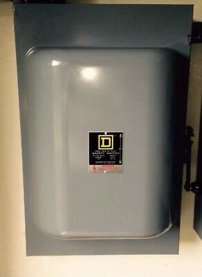 Square D 82354 Double Throw Safety Switch Transfer Switch 240 VAC 200A 3-Pole