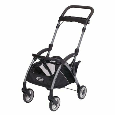 Graco SnugRider Elite Stroller and Car Seat Carrier, Black Discontinued by