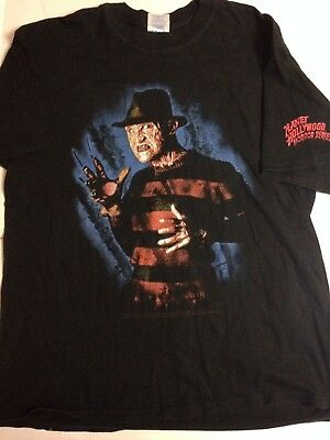 Rare Tee Shirt Planet Hollywood Horror Series - Freddy Krueger