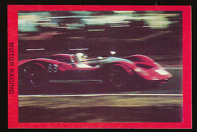 1973 Sunblest Sports Action Tip Top Bread Motor Racing card r