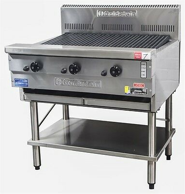 Goldstein Gas 900 Char Grill with reversible grates