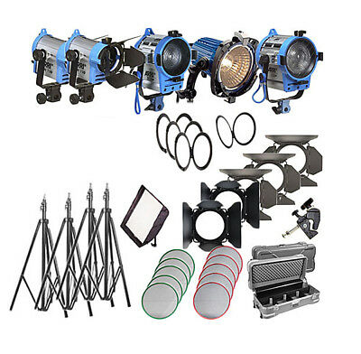 Arri Softbank IV Tungsten 5 Light Kit (Open Box)
