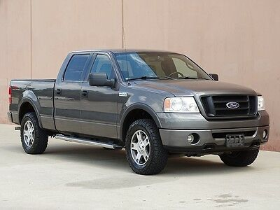 2006 Ford F-150 FX4 Crew Cab Pickup 4-Door 2006 FORD F150 FX4 CREW CAB 4X4 ACCIDENT FREE TEXAS TRUCK CARFAX CERTIFIED!!