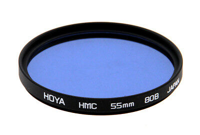 Hoya 55mm 80B Color Conversion Multi-Coated (HMC) Filter (Open Box)
