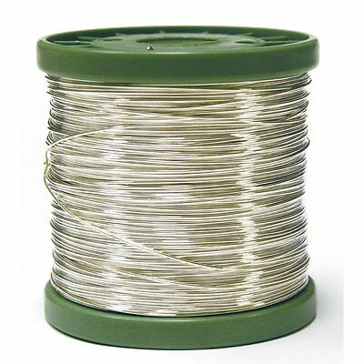 RAYHER 2410100 Silver Wire with a Copper Core – 1 kg spool – 0,40 mm – 880 M