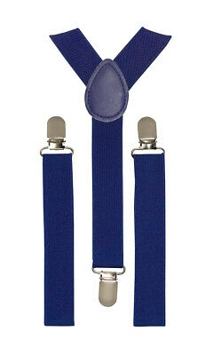 Toddler Baby Boys Girls Child Suspender Y Clips Royal Blue Fashion Accessoires