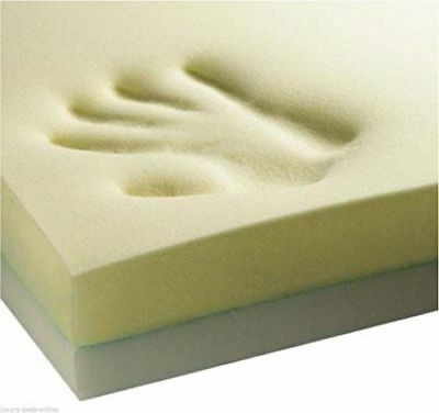 T&Z @ ORTHOPAEDIC MEMORY FOAM 140x70x2.5cm Cotbed MATTRESS TOPPER Cot Bed Size~