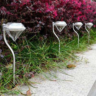Solar Color-Changing Power Yard Garden Light Waterproof LED Outdoor Lamp Hot
