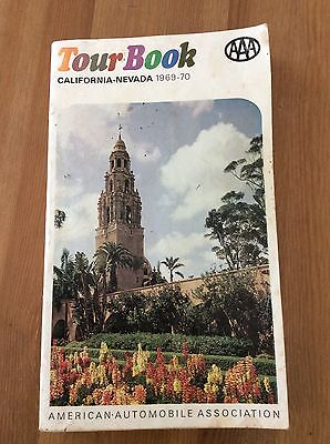 Vintage 1968-70 AAA TourBook For California And Nevada. Must See!!