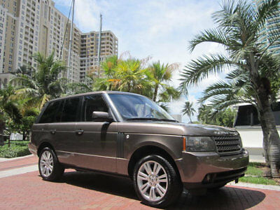 2010 Land Rover Range Rover 4WD 4dr HSE LUX Florida One Owner 2010 Land Rover Range Rover HSE LUX Edition Rare Color Combo
