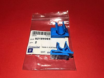 92189069 Genuine Holden New 2 x Glove Box Blue Retaining Clips WL Statesman