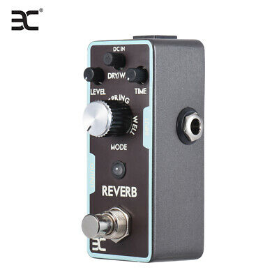 Hot ENO Guitar Pedal Reverb from Spring Hall Echo to Space sound Effect Quality