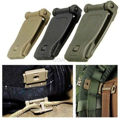 5/10Pcs Molle Strap Backpack Bag Webbing Connecting Buckle Clip EDC Outdoor Tool