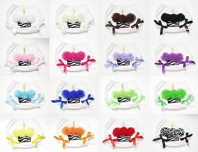 Various Color Zebra Cupcake Printing Bloomer Pantie Brief For Newborn Baby 6m-3Y