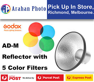 Godox AD-M Standard Reflector with 5 Color Gel for Witstro AD200