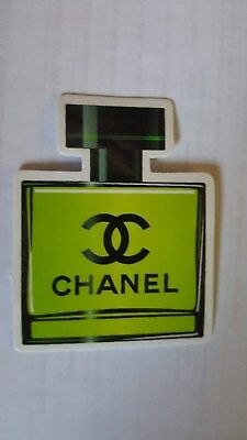 CHANEL sticker decal laptop car wall unused unstuck quality 7 X 5.5 cm