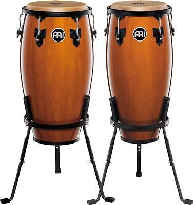 """Meinl Percussion Headliner Series HC555NT Pair of congas inch Wooden 10 and 11 """""""