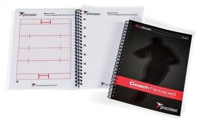 Precision Training Match day Rugby Union / Rugby League Notepad Size A5