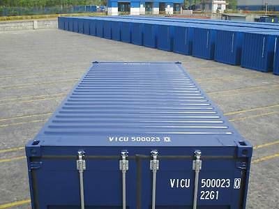 SHIPPING CONTAINERS 20 FT NEW 2017 RAL 5013 Marchwood depot now £1950+vat