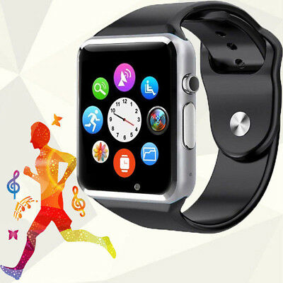 New W8 A1 Smart Wrist Watch Bluetooth Phone Support GSM SIM Card For Android IOS