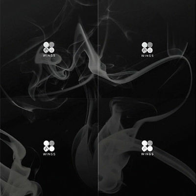 BTS [WINGS] 2nd Album CD+POSTER+96p Photo Book+1p Photo Card K-POP SEALED