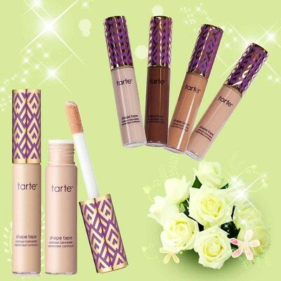 12 Color Tarte Shape Tape Contour Concealer in Box Make Up Fair Light Medium Tan