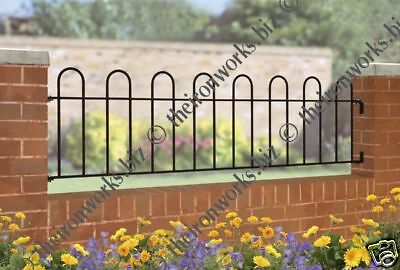 # Made To Measure Solid Wrought Iron Metal Fencing/railing Panel Hoop Grills