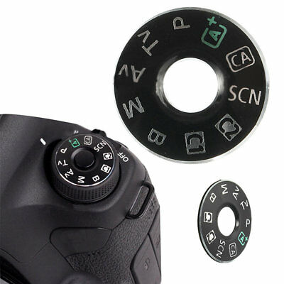 For Canon EOS 6D Camera Function Dial Mode Plate Interface Replacement Button