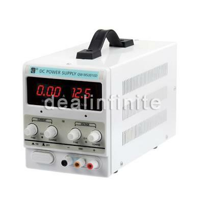DC Power Supply - 30V 10A Precision Variable Digital Lab Adjustable with Cable!